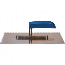 Гладилка нержавеющая сталь деревянная ручка 13х28 (з.4х4)