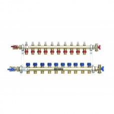 Коллектор распределительный Rehau HKV-D на 11 контуров нержавеющая сталь 12081111002