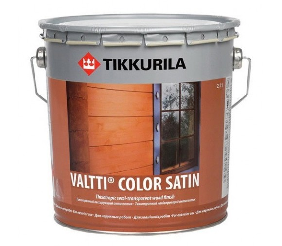 Антисептик Tikkurila Valtti Color Satin EС 9 л