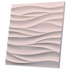 Artgypspanel Острые волны 500х500 мм