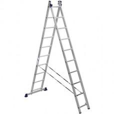 Лестница двухсекционная секционная Алюмет 5210  2х10