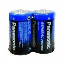 Батарейка солевая Panasonic D R20 SR2 2 шт