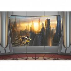 Фотообои бумажные Komar Star Wars Coruscant View 8-483 3,68х2,54 м