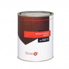 Эмаль Elcon термостойкая белая 1 л