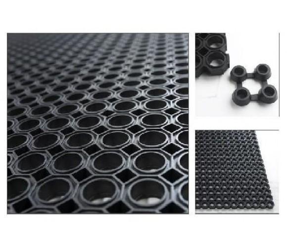 Коврик резиновый ячеистый Cleanwill 500х1000 мм