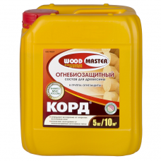 Огнебиозащитный состав Woodmaster Корд 5 кг