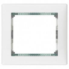 Рамка одноместная Legrand Valena 774461 белая/кристалл
