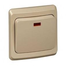 Выключатель Schneider Electric Этюд BC10-005K одноклавишный кремовый