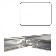 Подвесная система Албес Эконом Т-24 белая матовая 0,6 м