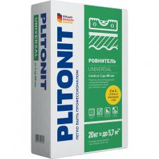 Plitonit Universal быстротвердеющий самовыравнивающийся 20 кг