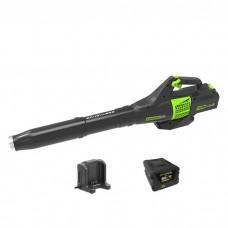 Greenworks GD60ABK2 с аккумулятором 2 А.ч и зарядным устройством