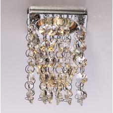 Светильник точечный встраиваемый Italmac Florencia 51 10 05 МР16 хром 50 Вт