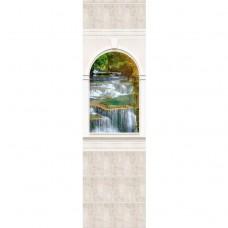Стеновая панель ПВХ Novita Панорамы 3D Триумф №7 узор 2700х250 мм