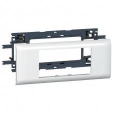 Суппорт для кабель-канала DLP Legrand Mosaic 010954 4 модуля 65 мм