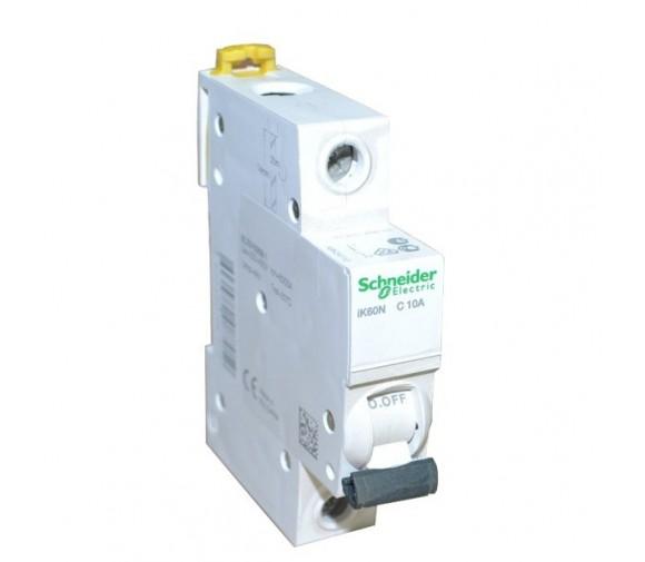 Автоматический выключатель Schneider Electric Acti9 iK60 1п C 10А 6кА