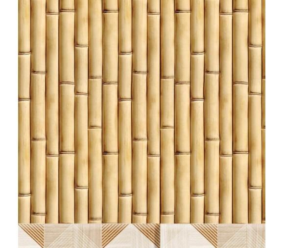 Стеновая панель ПВХ Кронапласт Unique Бамбук фигурная 2700х250 мм