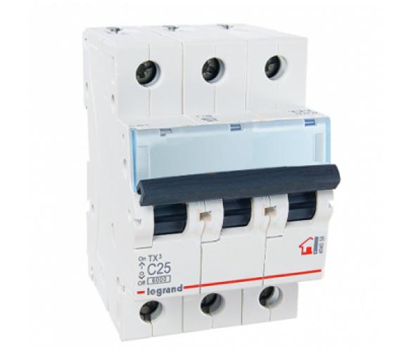 Автоматический выключатель Legrand TX3 404058 C 3P 25А