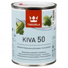 Лак Tikkurila Kiva 50 полуглянцевый 2,7 л