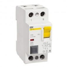 Автоматический выключатель дифференциального тока IEK ВД1-63 2P 50А 300мА
