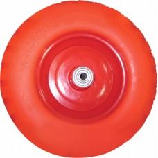 Колесо для 2-колёсной тачки бескамерное (3.25/3.00-8) втулка 20 мм - запасное (Вмятины)