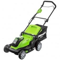 Greenworks G40LM40 без аккумулятора и зарядного устройства