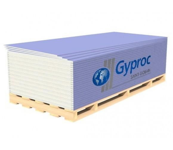 Гипсокартон (ГКЛ) Gyproc Акустик Стронг звукоизоляционный усиленный 3000х1200х15 мм