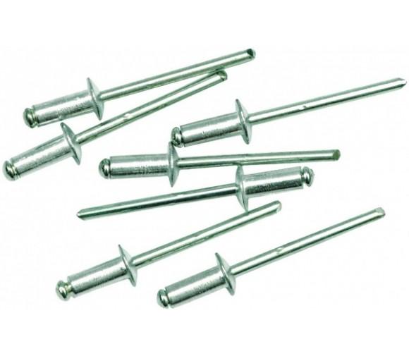 Заклепки алюминиевые вытяжные 4,8*12 мм 50 шт/уп