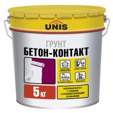 Грунтовка Unis Бетон-Контакт 5 кг