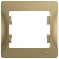 Рамка одноместная Schneider Electric Glossa GSL000401 титан