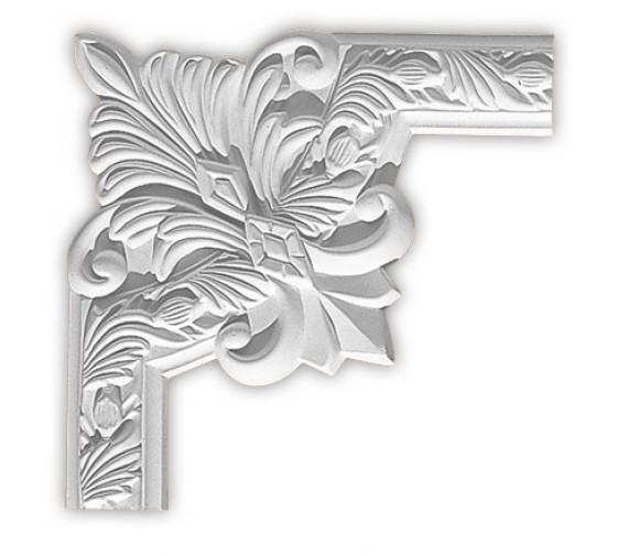 Угол декоративный для молдинга Decomaster 98102-3 260х260х22 мм
