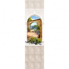 Стеновая панель ПВХ Novita Панорамы 3D Триумф №16 узор 2700х250 мм