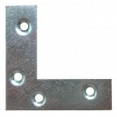 Уголок-пластина Maestro 66354 СВ075 светлый 100х100 мм