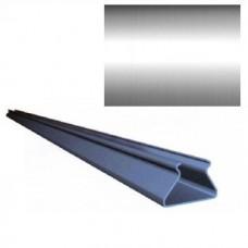 Раскладка для реечного потолка Cesal S-25 K А08 хром люкс 4000 мм
