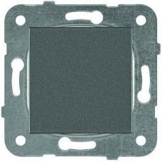Механизм выключателя Panasonic Karre Plus WKTT00012DG-RES одноклавишный тёмно-серый