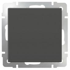 Механизм выключателя Werkel WL07-SW-1G-2W одноклавишный проходной серо-коричневый