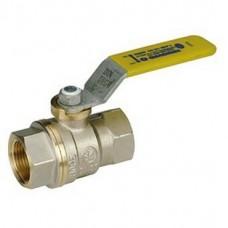 Кран шаровой Giacomini R910X004 полнопроходной латунный для газа