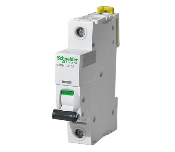 Автоматический выключатель Schneider Electric Acti9 iC60N 1п C 10А 6кА