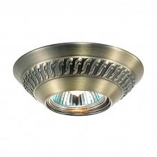 Светильник встраиваемый Novotech Wind 369658 NT12 269 бронза GX5.3 50W 12V
