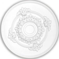 Розетка потолочная полиуретановая Decomaster DM 0361 348х36 мм
