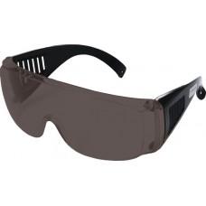 Очки защитные дымчатые с дужками