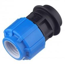 Муфта компрессионная ТПК-Аква 32 мм 3/4 дюйма с внутренней резьбой