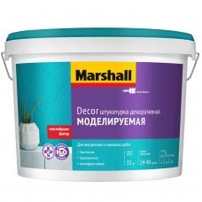 Штукатурка акриловая декоративная Marshall Decor Моделируемая 15 кг