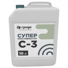 Пластификатор Грида С-3 для бетона 10 л