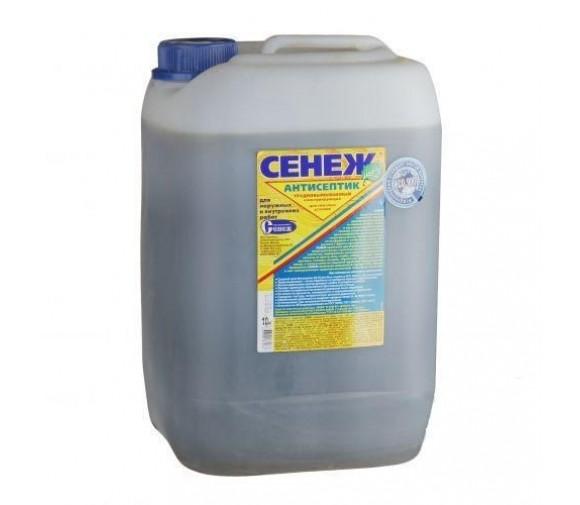 Антисептик Сенеж трудновымываемый консервирующий 10 кг