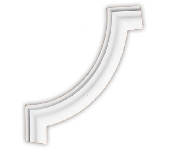 Угол декоративный для молдинга Decomaster DP 304 B 270х270х20 мм