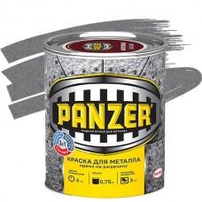Panzer молотковая серебристо-серая 0,75 л