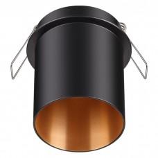 Светильник встраиваемый Novotech Butt 370433 NT19 216 черный 50W 220V