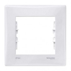 Рамка одноместная Schneider Electric Sedna SDN5810121 IP44 белая
