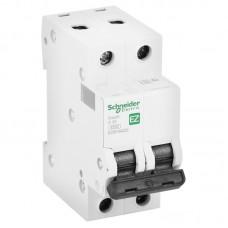 Автоматический выключатель Schneider Electric EASY 9 2П C 20А 4,5кА