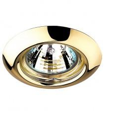 Светильник встраиваемый Novotech Tor 369113 NT09 279 золото GX5.3 50W 12V